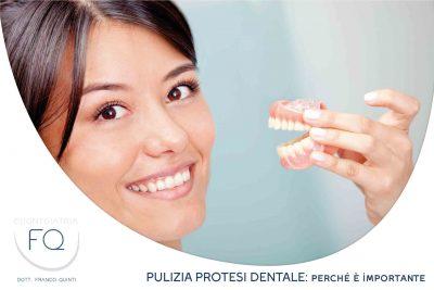 pulizia protesi dentale