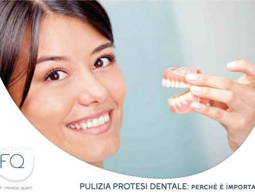 La pulizia della protesi dentale, perché è così importante?